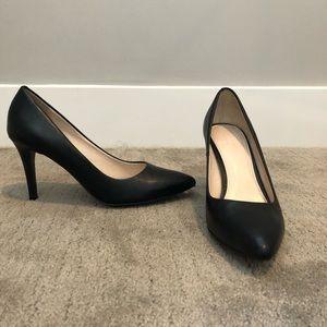 Cole Haan black leather heels